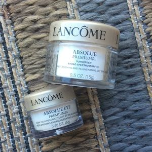 Lancome Makeup - Deluxe travel sizes of lancome absolue premium New